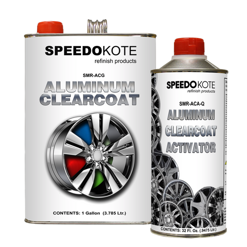 Direct to Aluminum Clear Coat 2K Urethane, SMR-ACG/ACA 4:1 Clearcoat Gallon Kit