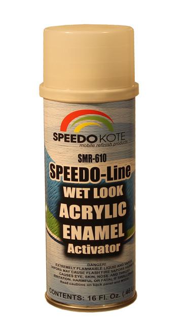 Acrylic Enamel hardener increases gloss & durability of enamel paints, SMR-610-P