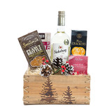 White Wine Gift Basket