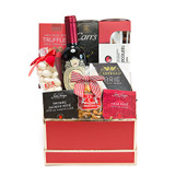 Foodie Red Wine Gift Basket