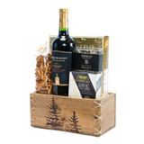Winter Red Wine Gift Basket Delivery