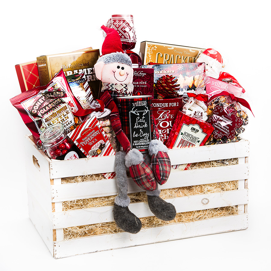 Festive Holiday Crate