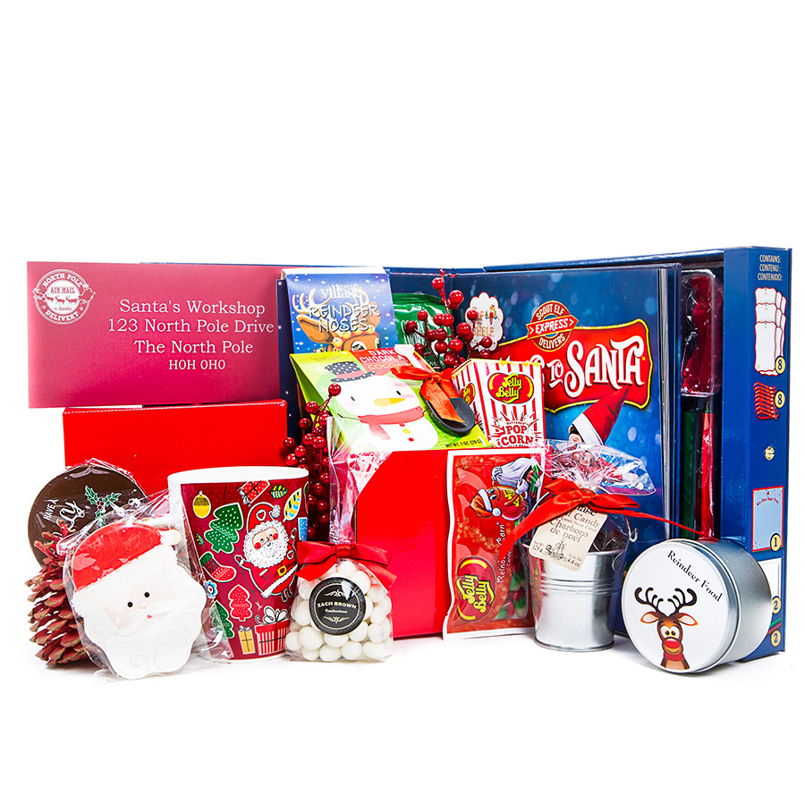 Letters To Santa Gift Set