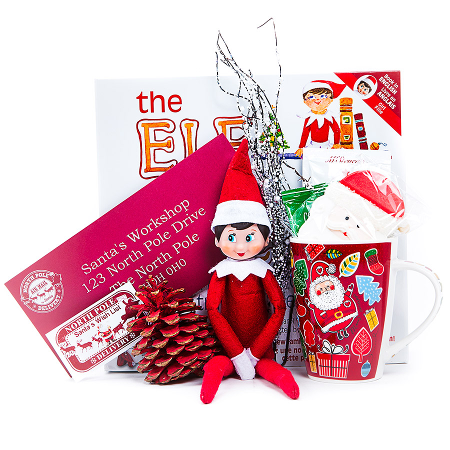Elf on the Shelf Gift Set-Santas Wish List