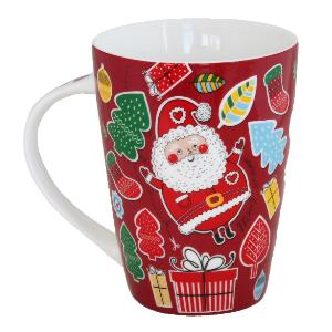 Festive Holiday Mug Santas Wishlist