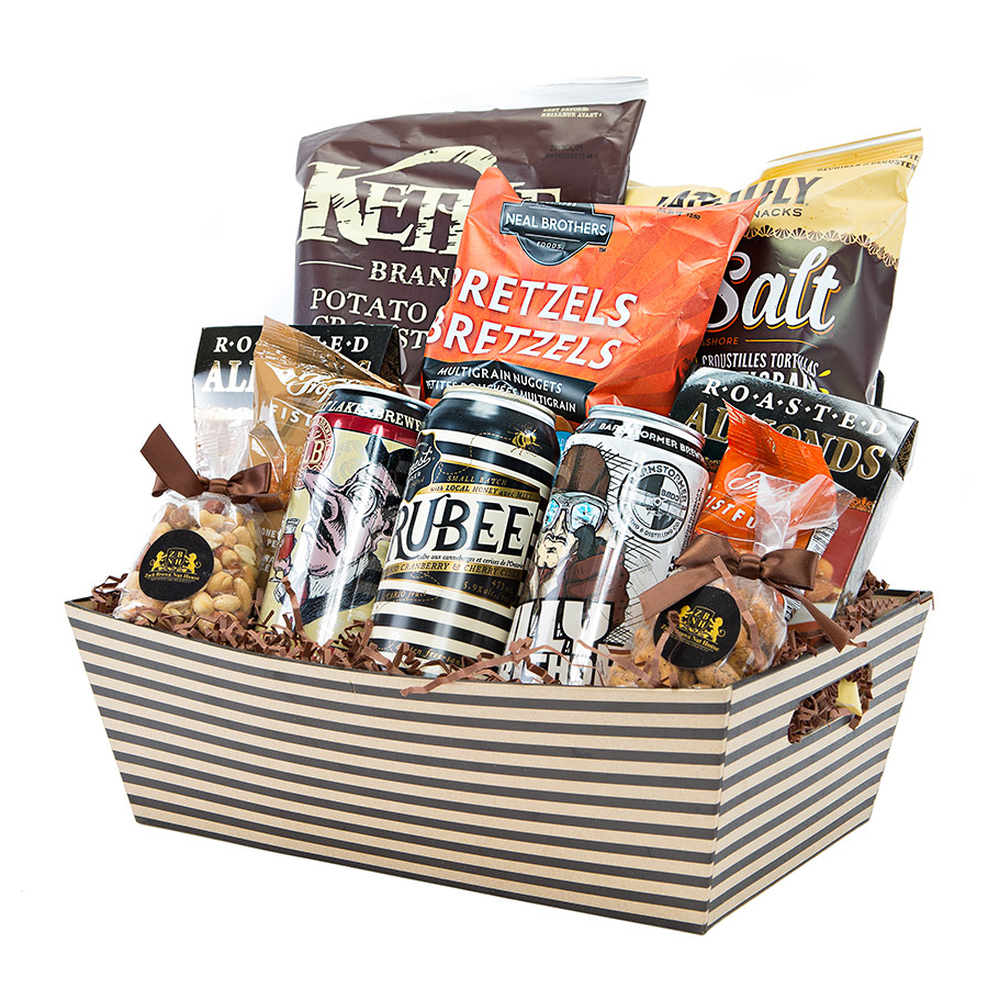 Send Beer Gift Basket