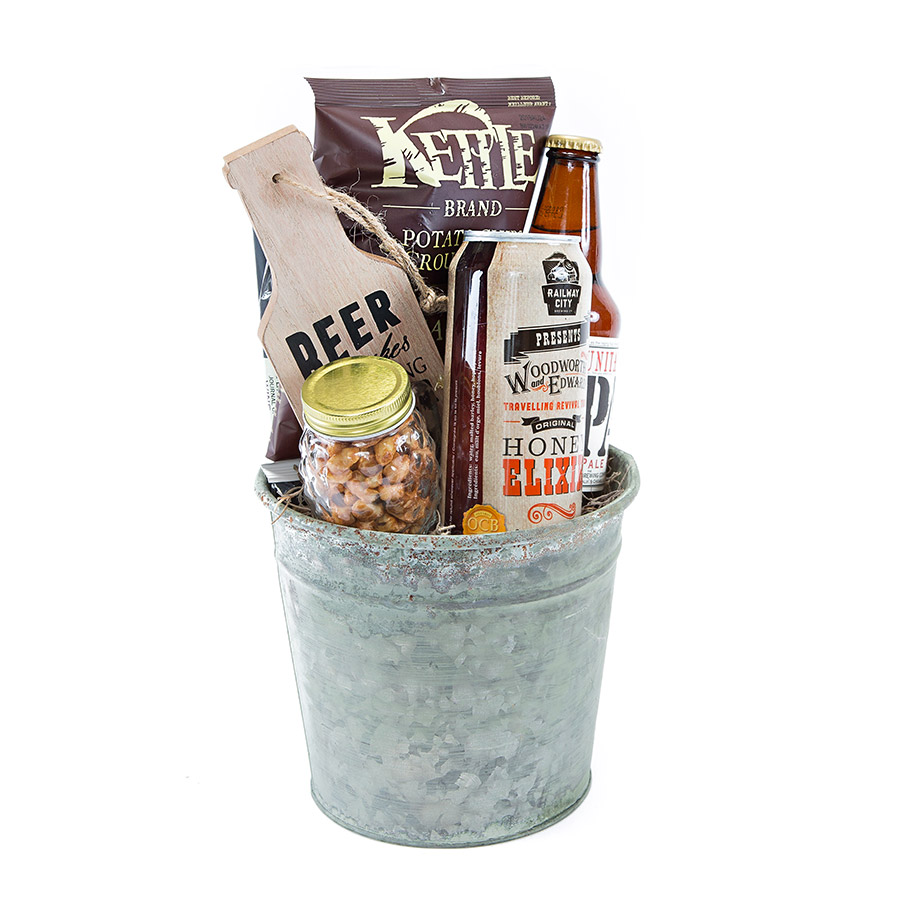 Beer gift basket delivery Ontario