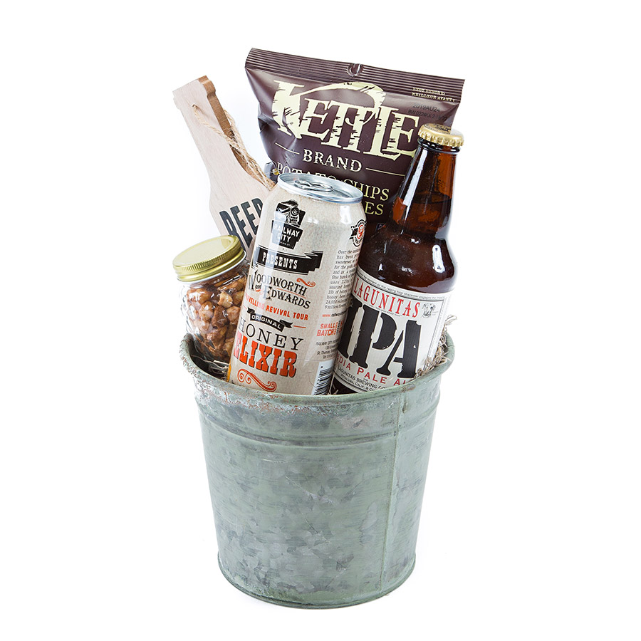 Beer gift baskets delivery Canada