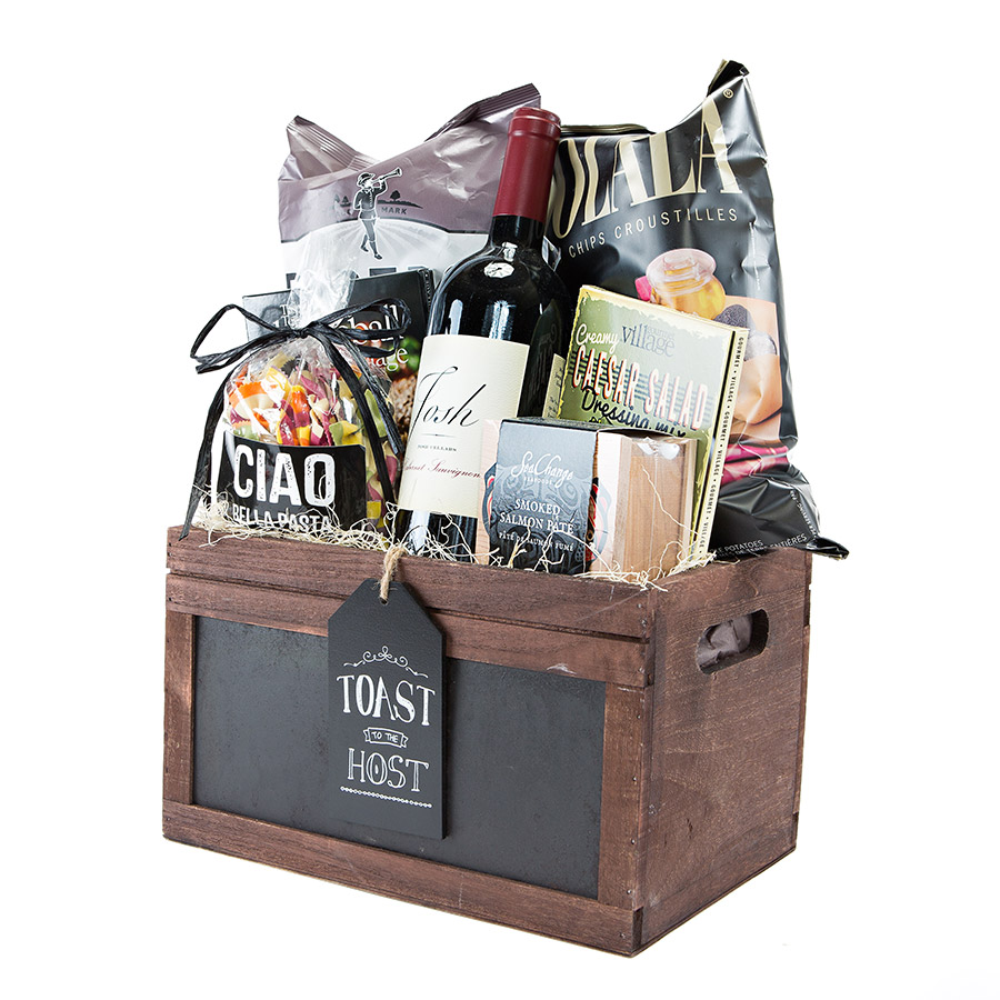 Wine Gift Basket Delivery Canada