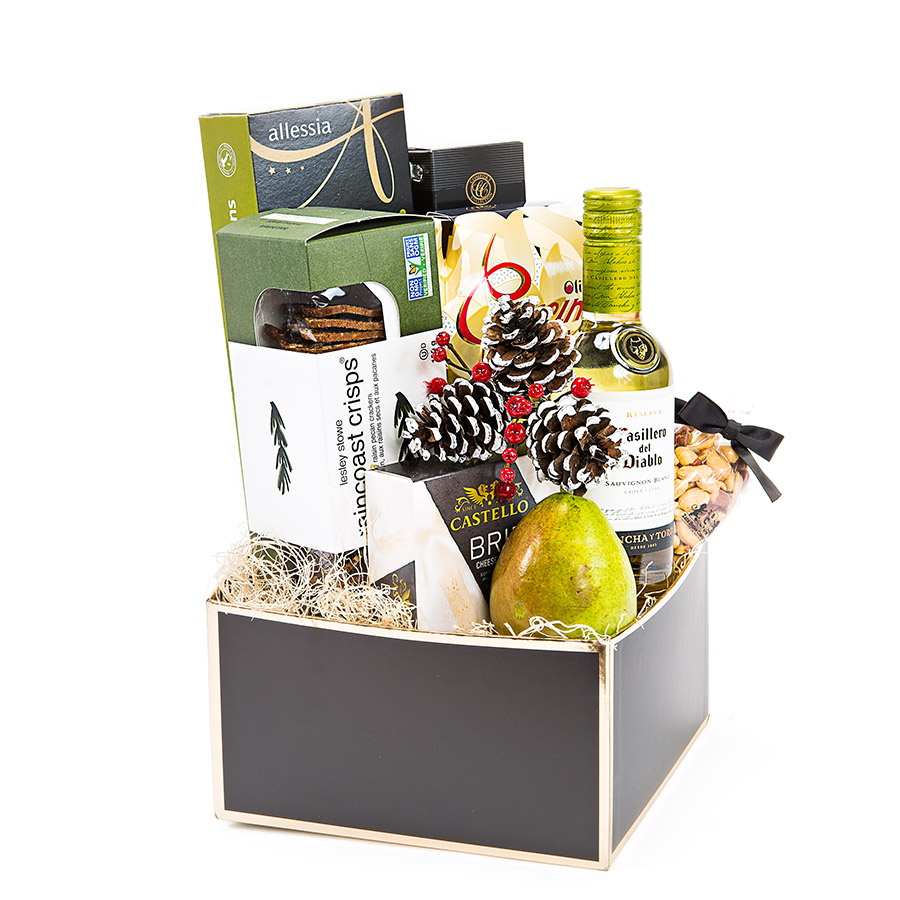 Wine and Cheese Gift Baskets