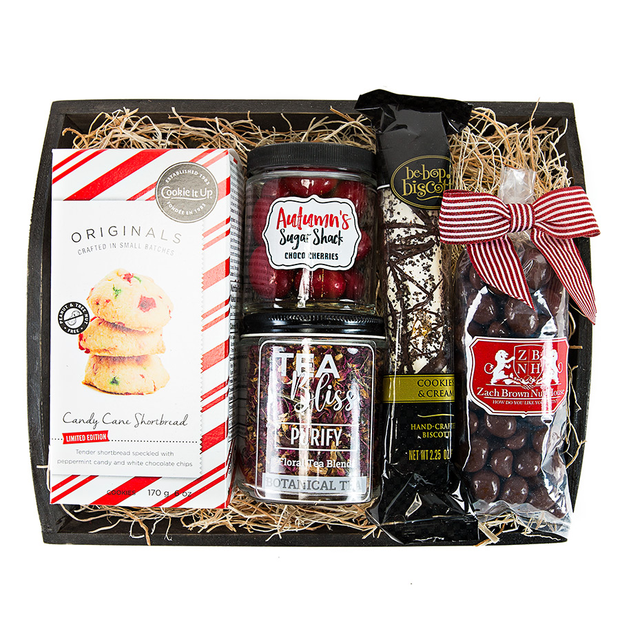 Tea and Shortbread Gift Basket