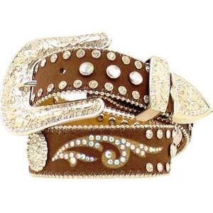 Mens Top Hand Brown Middle Inlay Ariat Men/'s Accessories N2475702 Nocona Belt Co