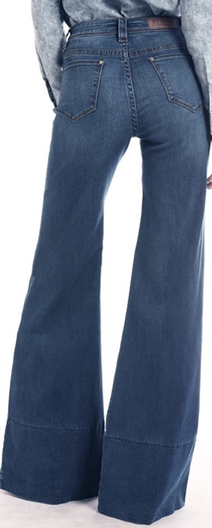 ROCK & ROLL COWGIRL High Rise Extra Stretch Flare Jeans - WHF2535