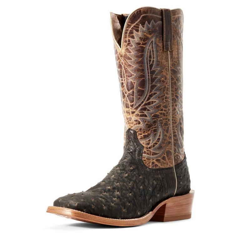 Ariat Men's Showman Western Boot FQ Ostrich  - 10029613