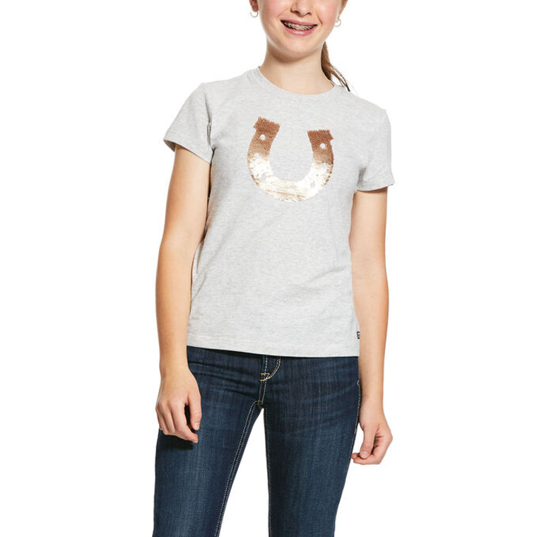 Ariat Kids' Sequin Shoe T-Shirt - 10030438