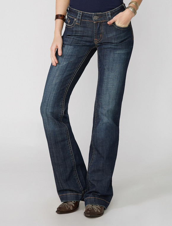 Stetson 214 City Trouser Jeans In Medium Wash - 11-054-0214-0200