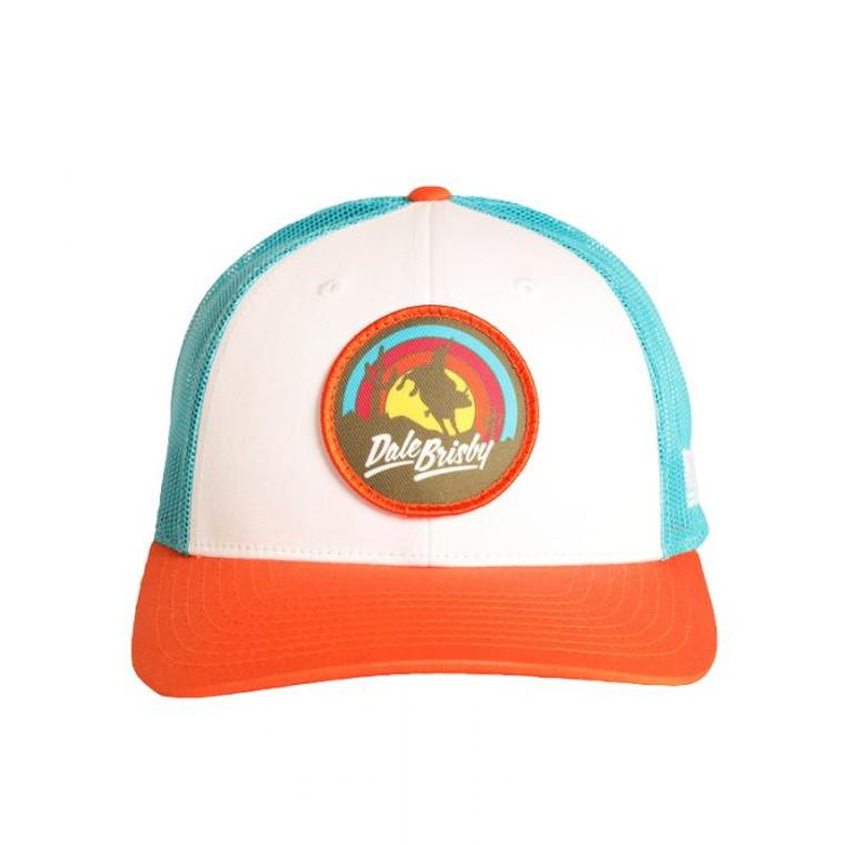 Rock & Roll Denim® Dale Brisby Buck'in Bronc Snapback Cap - cbc4855