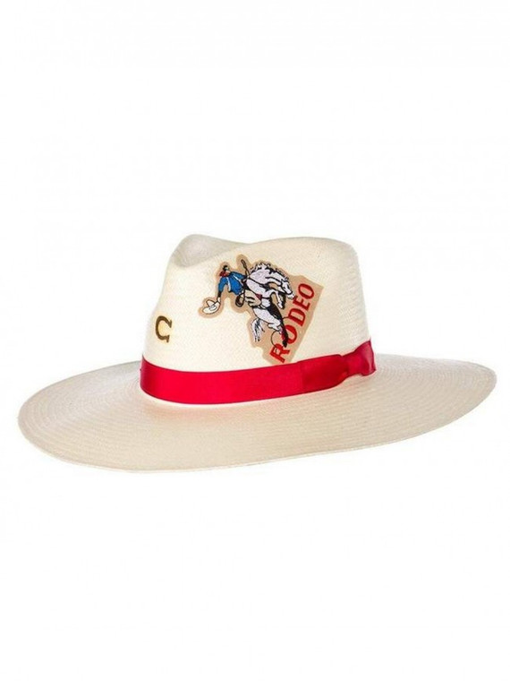 Charlie 1 Horse® Ladies' Rodeo Road Straw Hat - CSRDRO