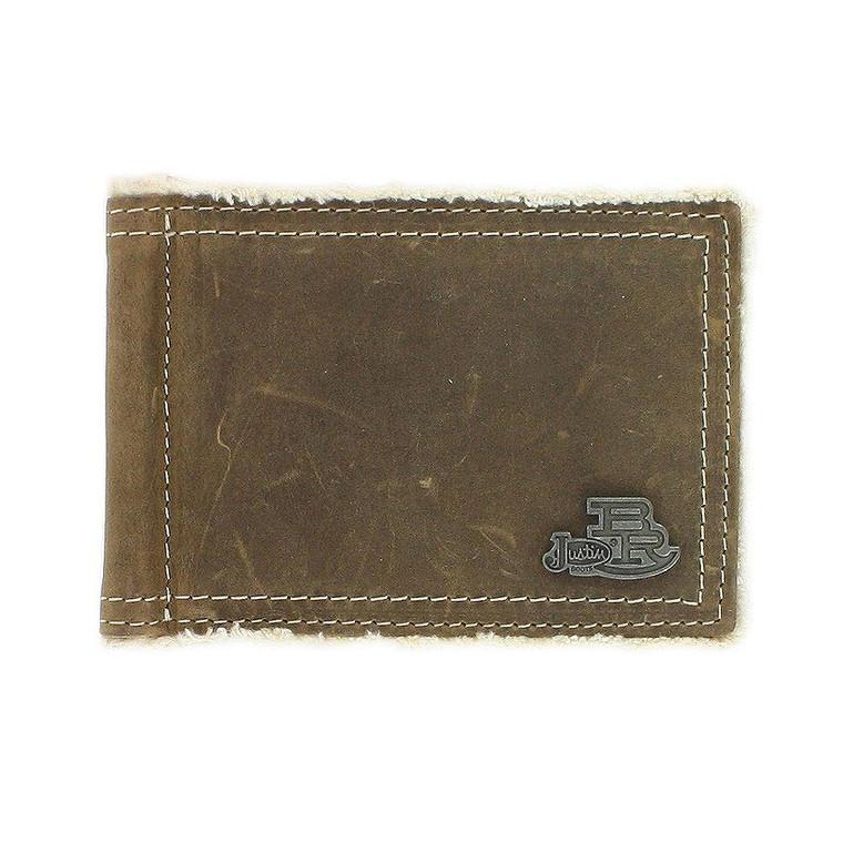 Justin Bent Rail Men's Money Clip Wallet - 1755644