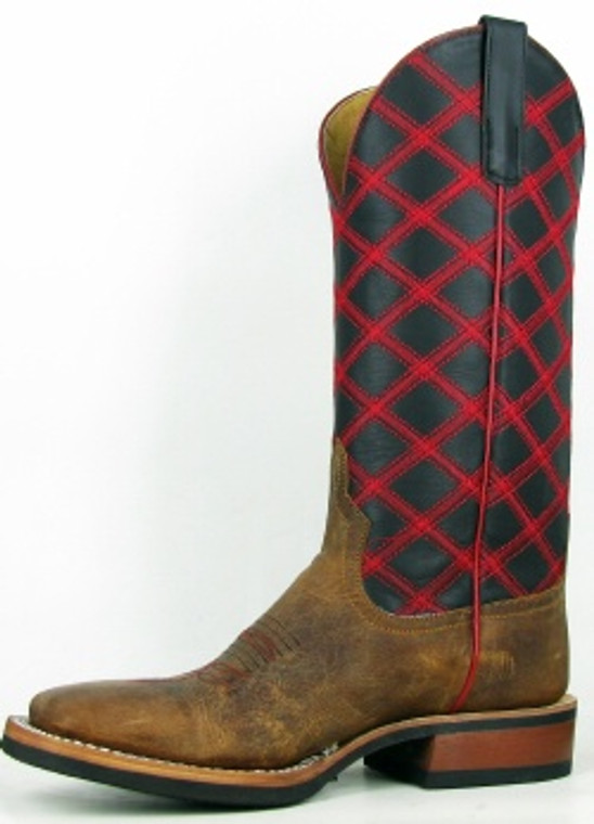 Horsepower Collection Western Boot with Honey Crazy Horse  - HP1063