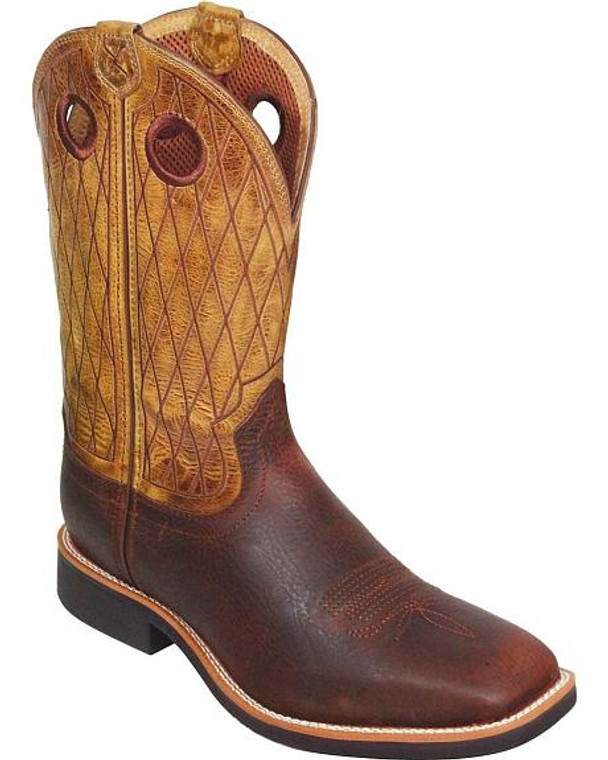 TWISTED X TOP HAND COWBOY BOOTS - MTH0012