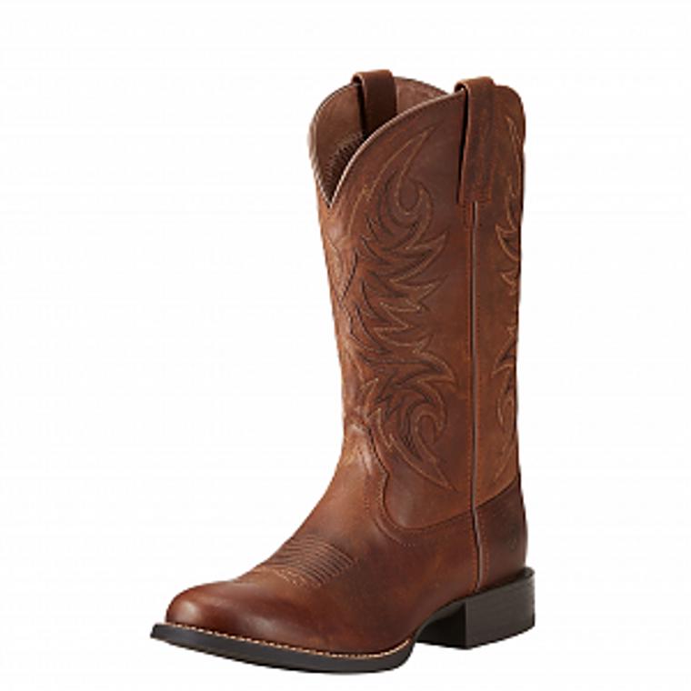 Ariat Mens Sport Horseman Rafter Tan Boots  - 10021700