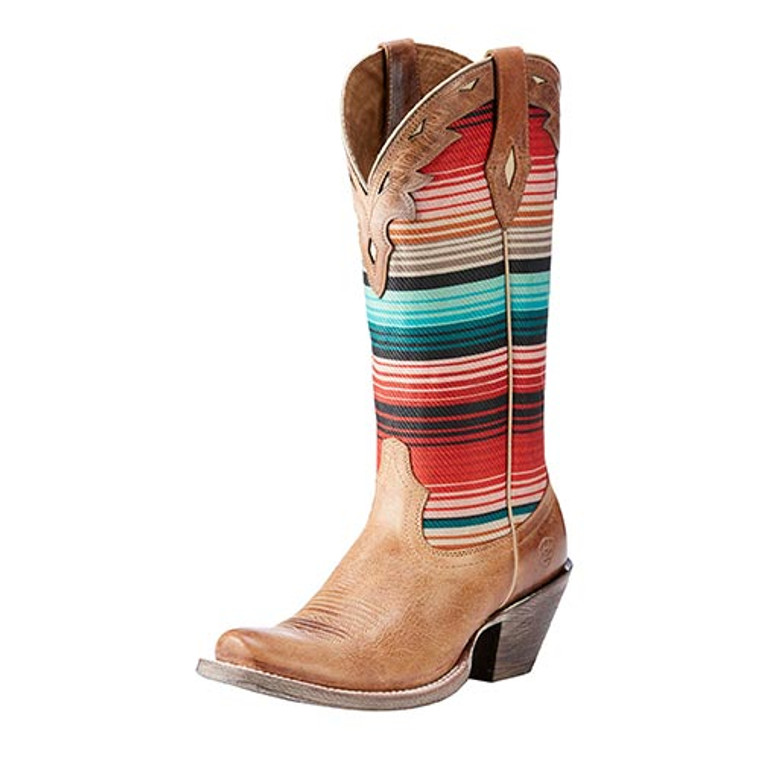 Ariat Women's Circuit Collection - Cheyenne - Cracked Tan / Southwestern - 10023150