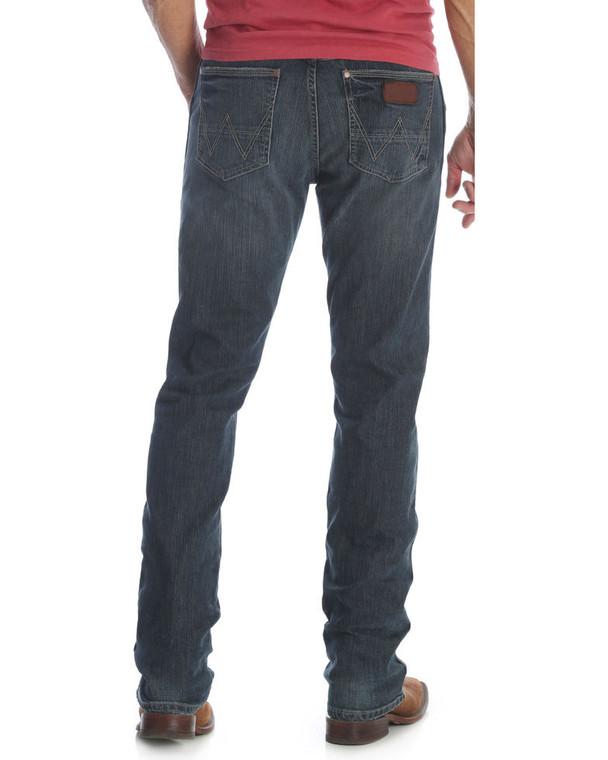 Men's Wrangler Retro Slim Fit Straight Leg Jean- 88MWZJM