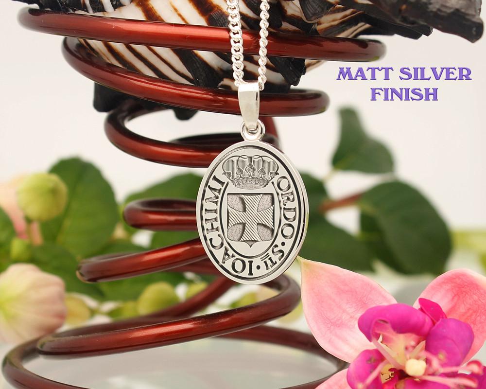 Matt Silver finish