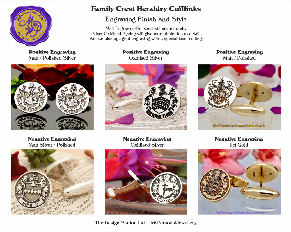 Engraving Styles and Finish