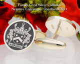 Aberdeen Family Crest Negative Oxidised