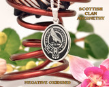 Abernethy Scottish Clan Pendant Oval