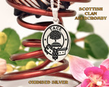Abercromby Scottish Clan Pendant Oval