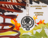 Adair Scottish Clan Pendant Round
