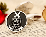 Lopes Family Crest Bespoke Family Crest Cufflinks
