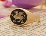 BUFFS (Royal East Kent Regiment) Silver or 9ct Gold Signet Ring