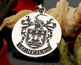 O'Neill Silver Pendant, available with different templates and name