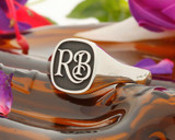 Bespoke Monogram Silver or 9ct Gold Signet Ring HS3