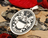 Power Family Crest Pendant, this design suits Oval Pendant.