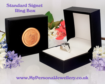 Standard Ring box included with MPJ wax seal