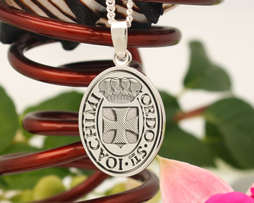 Order of Saint Joachim Sterling Silver Pendant available in 4 sizes