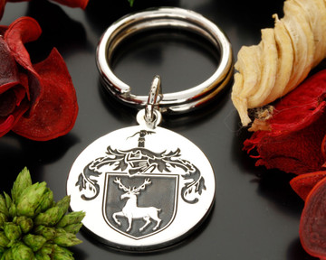 Family Crest Keyring