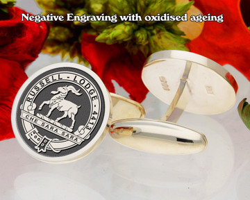 Russell Lodge 4413 Masonic Cufflinks