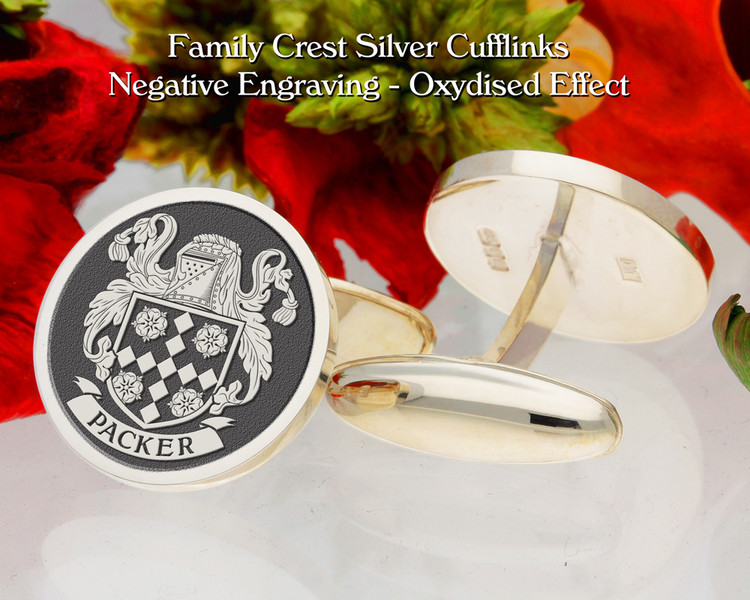 Packer Family Crest Cufflinks
