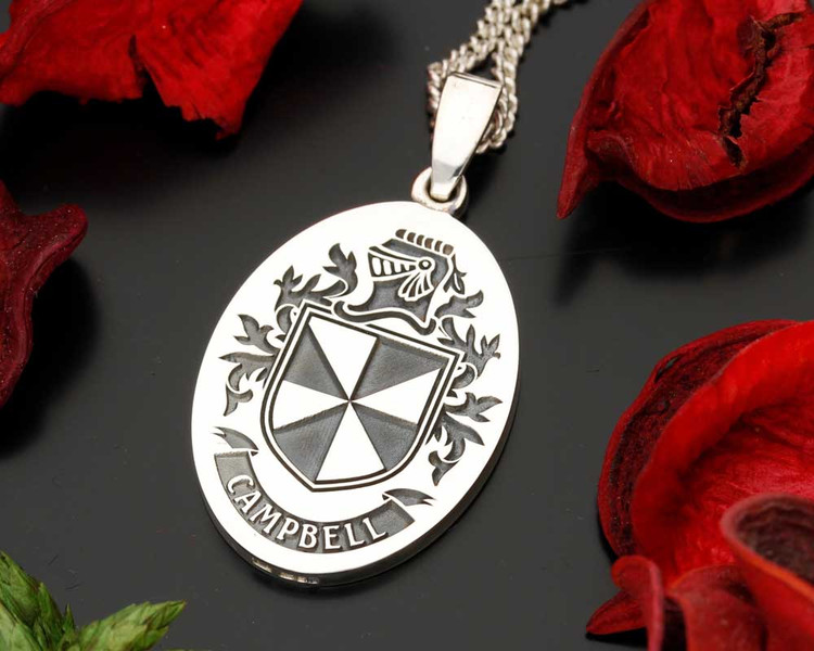 Campbell Family Crest Pendant.