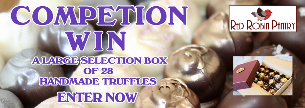 Win a box of hand made chocolates from Red Robin Pantry