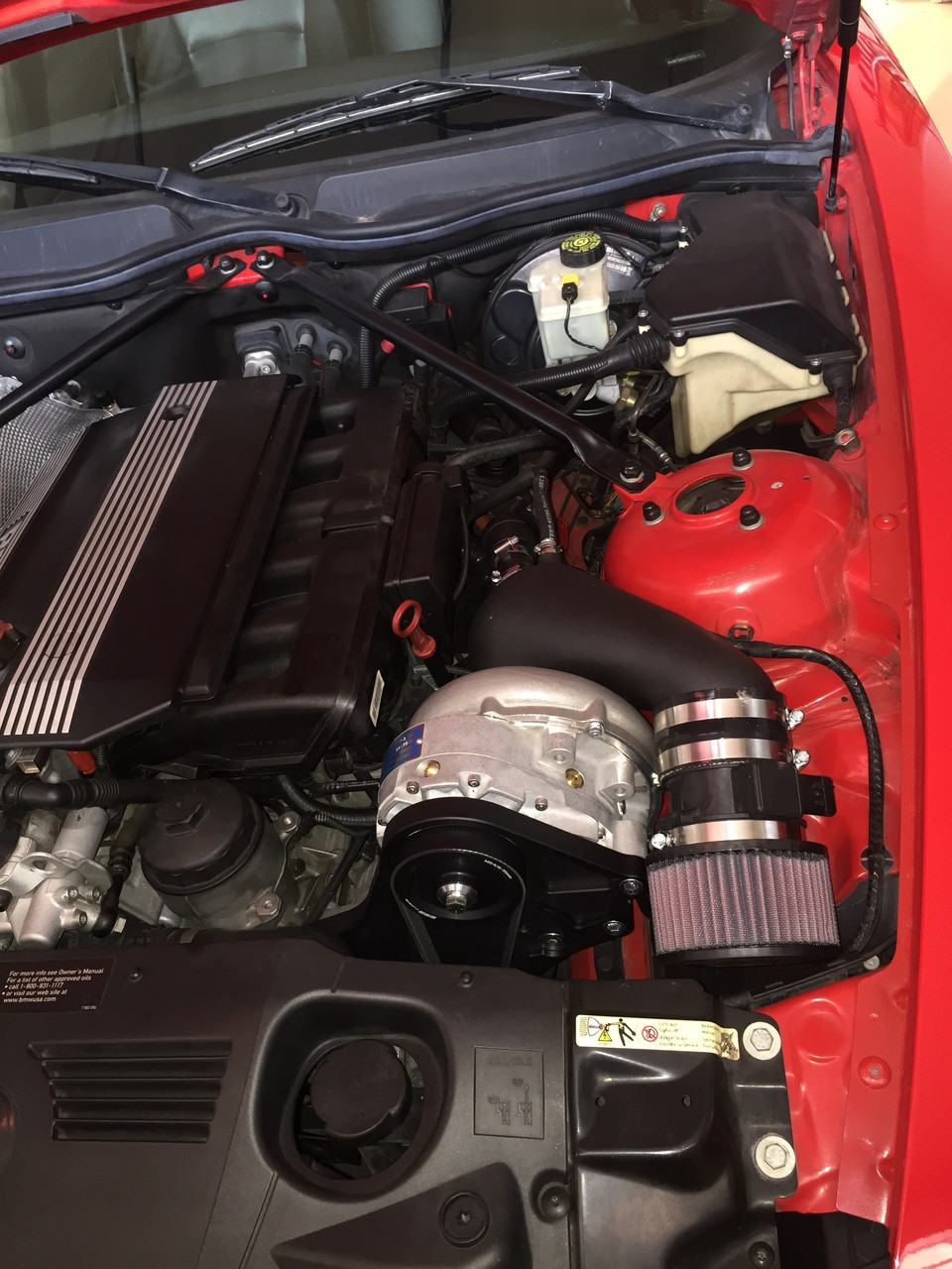 ESS M52TÜ/M54 VT1 Supercharger System