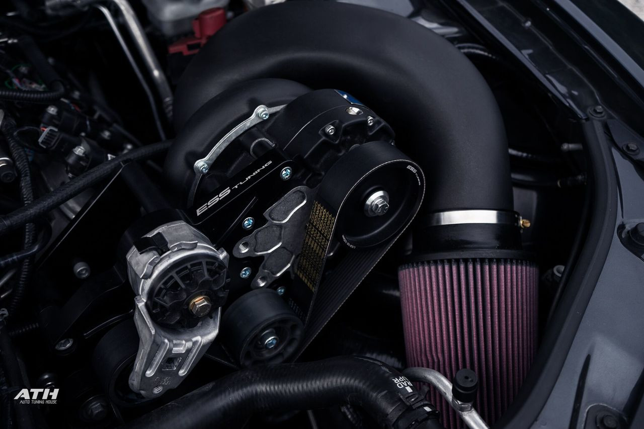 Gen 5 Camaro SS Intercooled Supercharger System