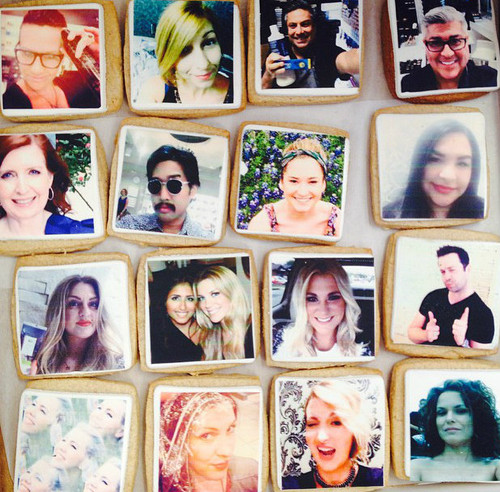 Selfie Cookies