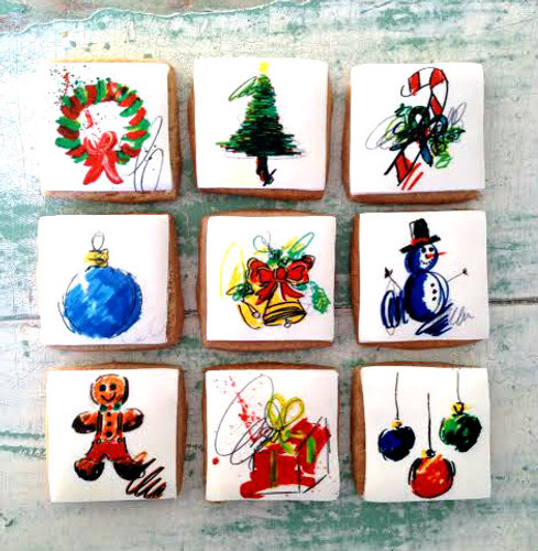 Ash Almonte 2016 Holiday Cookies